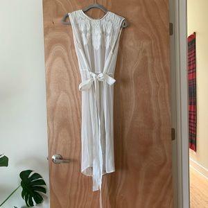Zara side split tunic or dress